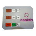 panneau de commandes digital des machines caplain machines