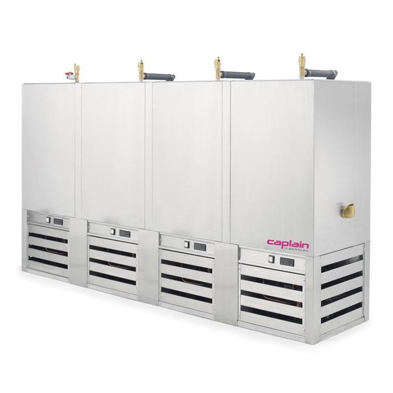 refroidisseur quatre machines caplain machines